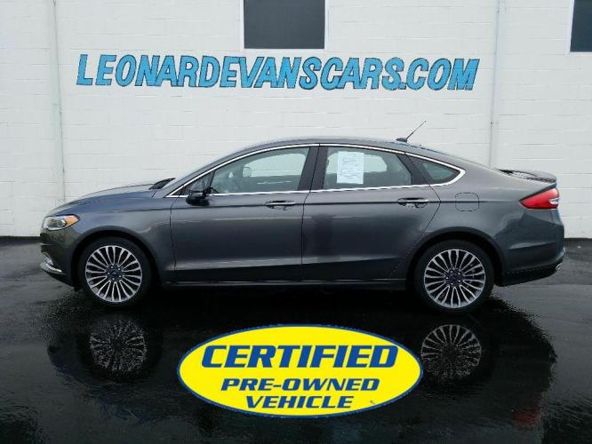2017 Ford Fusion Titanium All Wheel Drive