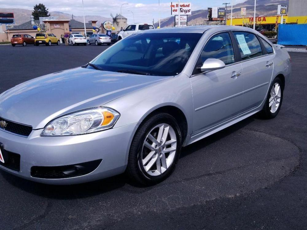 2012 Silver Ice Metallic Chevrolet Impala LTZ (2G1WC5E3XC1) with an 3.6 liter V6 Cylinder Engine engine, 6-SPEED AUTOMATIC, ELECTRONICALLY CONTROLLED WITH transmission, located at 1424 Wenatchee Ave., Wenatchee, WA, 98801, (509) 663-8551, 47.442749, -120.327003 - Photo #7
