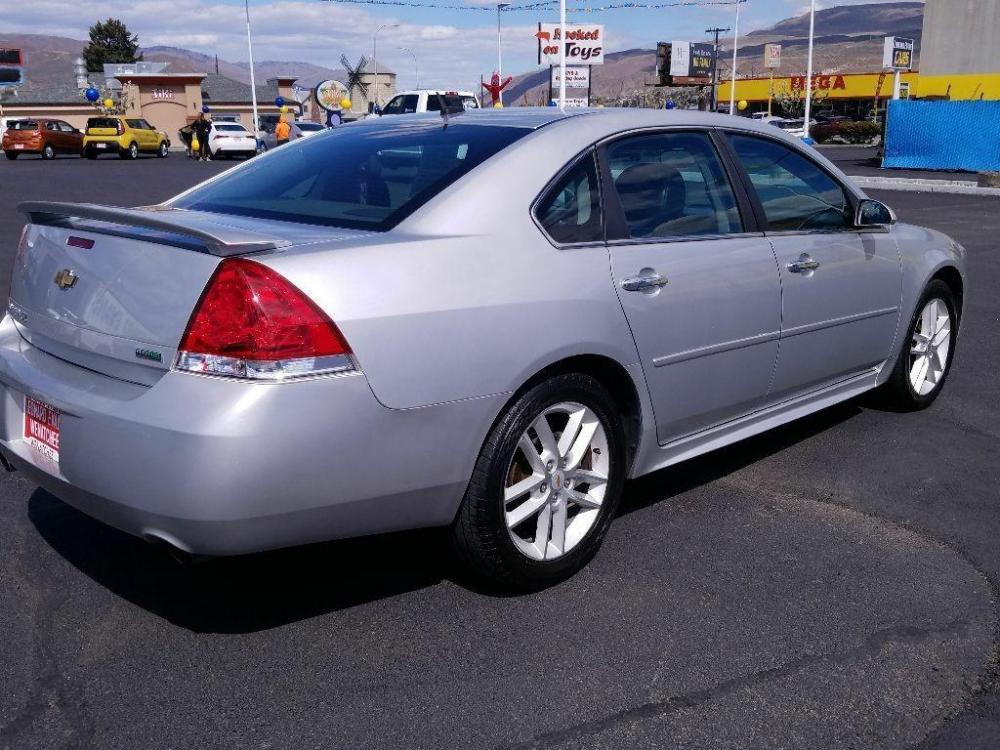 2012 Silver Ice Metallic Chevrolet Impala LTZ (2G1WC5E3XC1) with an 3.6 liter V6 Cylinder Engine engine, 6-SPEED AUTOMATIC, ELECTRONICALLY CONTROLLED WITH transmission, located at 1424 Wenatchee Ave., Wenatchee, WA, 98801, (509) 663-8551, 47.442749, -120.327003 - Photo #1