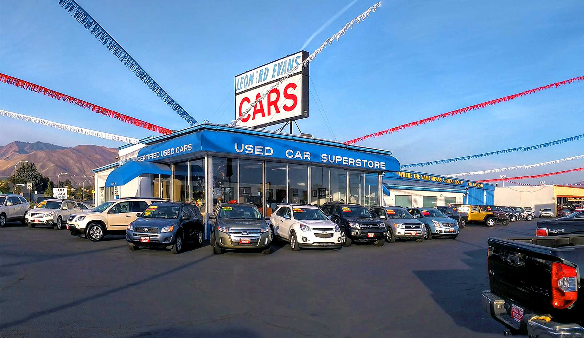 Used Cars Dealership >> Leonard Evans Used Car Superstore Used Cars Wenatchee Wa